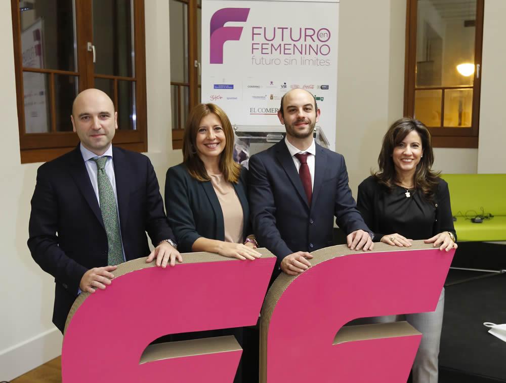Diego Oliveira, Elena Reales, Luis Javier Martínez y Sara Gallego