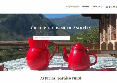 ARCA. Alojamientos rurales en Asturias