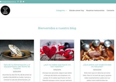 Comer por ahí – Blog relacionado con la gastronomía