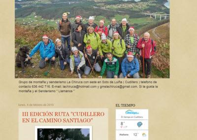 Grupo de montaña La Chiruca