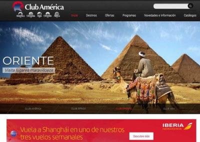 Club América – TourOperador Mayorista. Programas y viajes a medida