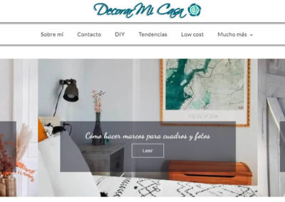 Decorar mi casa, blog de decoración