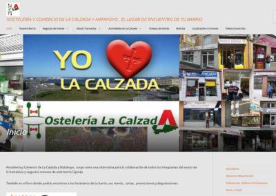 Hostelería y comercio de La Calzada y El Natahoyo