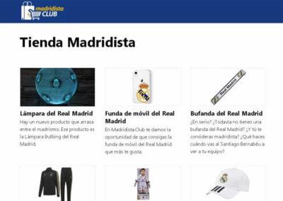 Tienda Madridista