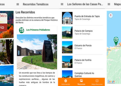 Recorridos Temáticos Parque Histórico del Navia