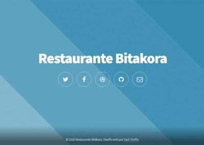 Restaurante Bitákora