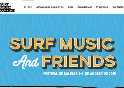 Festival de Salinas Surf, Music & Friends