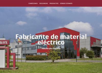 Tekox – Fabricante de material eléctrico de baja tensión