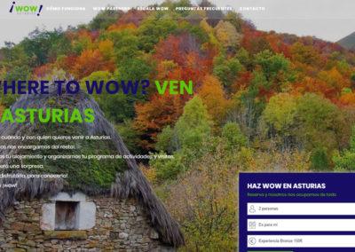Wow Asturias – Escapadas Sorpresa